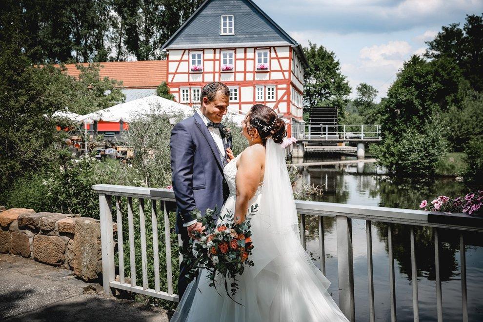 Hochzeit im Landgut Walkemühle in Frankenberg