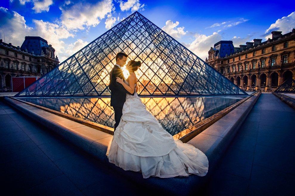 Als passionierter Fotograf liebe ich Brautpaar Shootings beim Sonnenuntergang